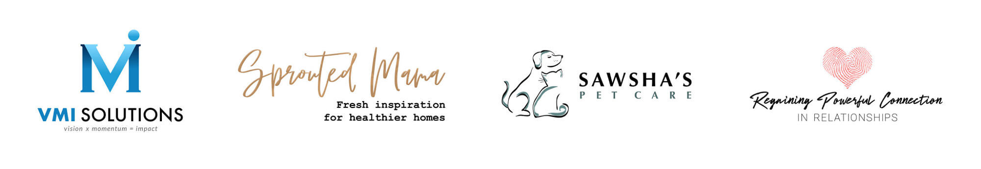 Sample Logos Designed by Kayli