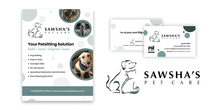 Sawsha's Pet Care Design Bundle